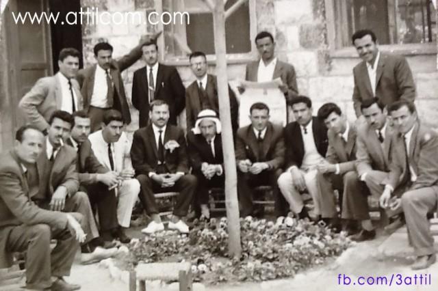 معلمو عتيل الصانوية عام 1963-1964