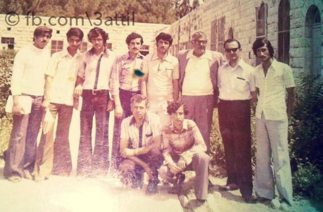 صورة من العام 1978 لطلاب الصف الثالث ثانوي